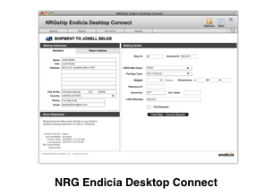 Endicia Desktop Connect