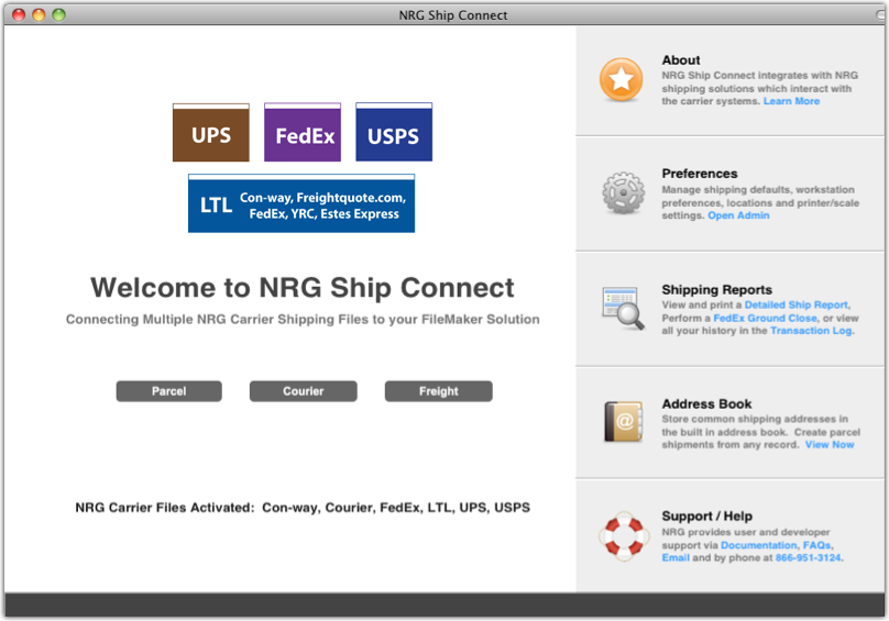 Shipping Software Shipping Screen